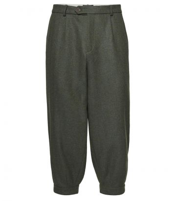 Mens Pleated Tweed Breeks - Glenwherry