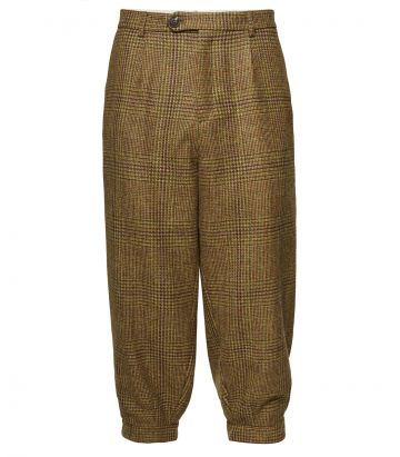Mens Pleated Tweed Breeks - Stuart