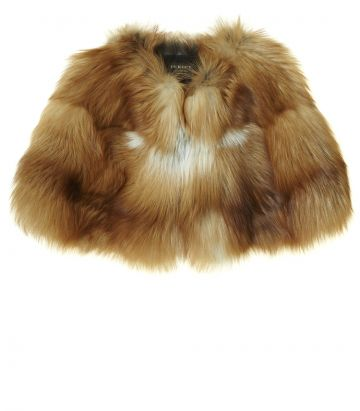 Ladies Fur Shoulder Cape - Red Fox