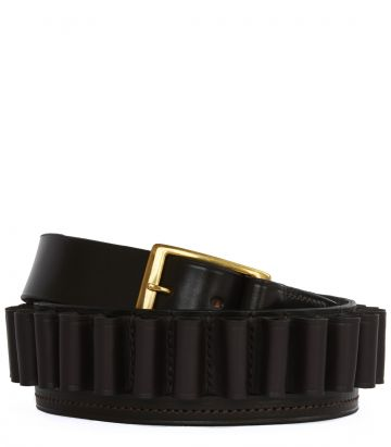 Leather Cartridge Belt - 12 Gauge
