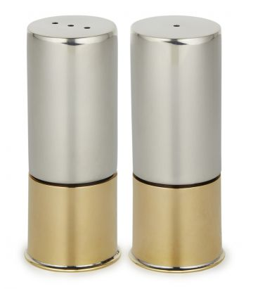 Pewter Cruet Set With Engraved Cap