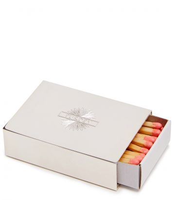 Silver Matchbox Holder