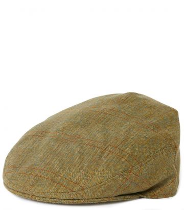 Litton Short Peak Tweed Cap - Bembridge