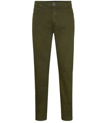 Mens Cotton Jeans - Winter Moss