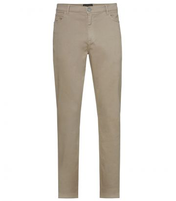 Mens Cotton Jeans - Sandstone
