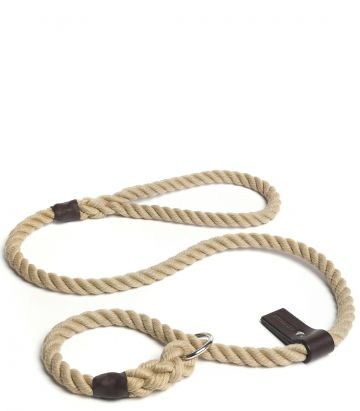 Heavyweight Rope Slip Lead - Natural