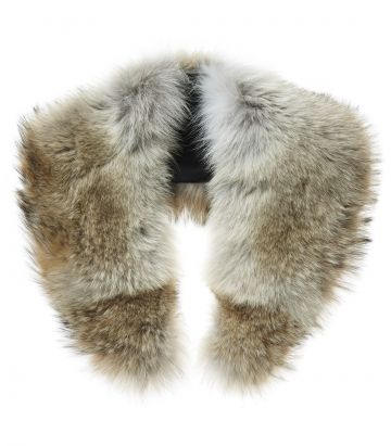 Coyote Fur Scarf
