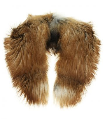 Red Fox Fur Scarf
