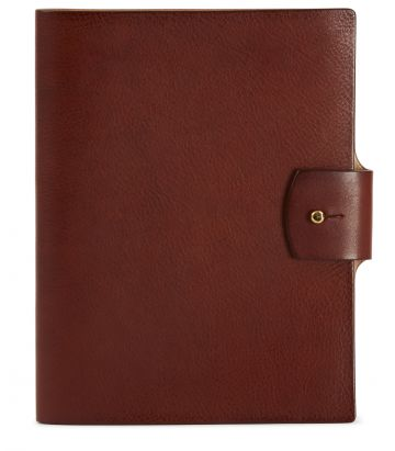 A5 Grain Leather Folio