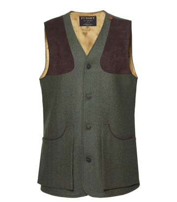 Mens Tweed Vest - Glenwherry