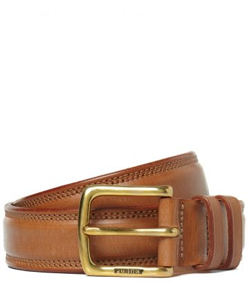 Mens Bridle Leather Belt