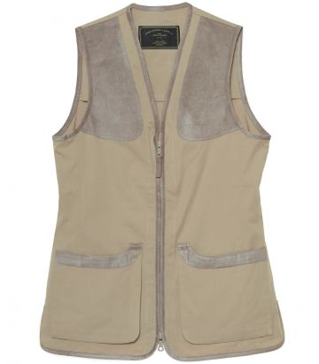 Ladies Cotton Dove Vest