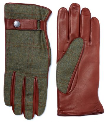 Mens Tweed Town Gloves - Bembridge