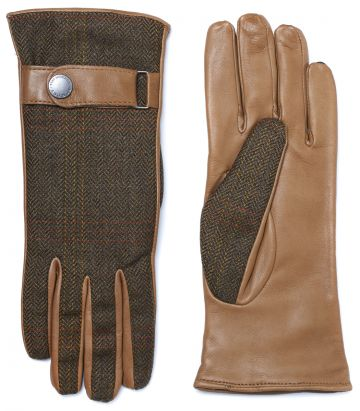 Ladies Tweed Town Gloves - Mount