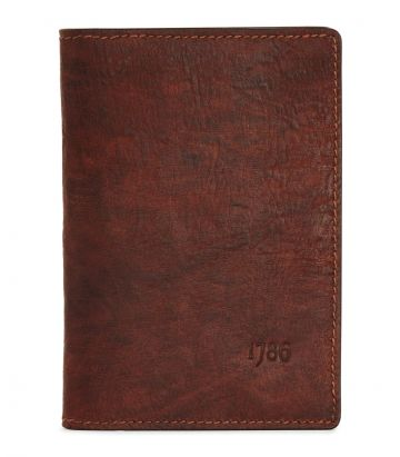 Russia Leather Passport Holder