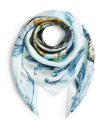 Ken Hunt Big 5 Silk Scarf