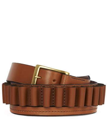 Leather Cartridge Belt - 20 Gauge