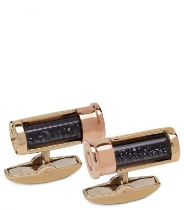 Gold Cartridge Cufflinks