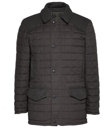 Mens Felgate Quilt Jacket - Moss Green