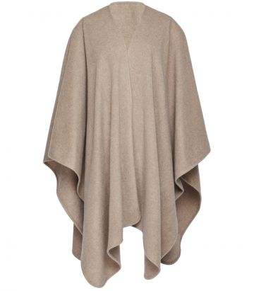 Ladies Cashmere Wrap - Biscuit