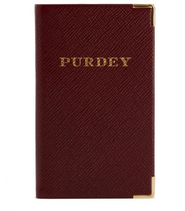 Purdey Pocket Diary 2020