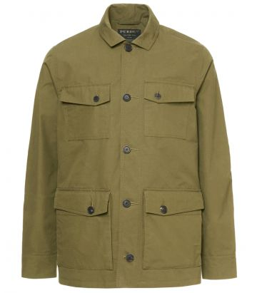 Mens Percival Safari Jacket - Desert Khaki