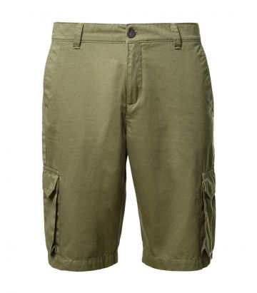 Mens Cargo Shorts - Safari Green