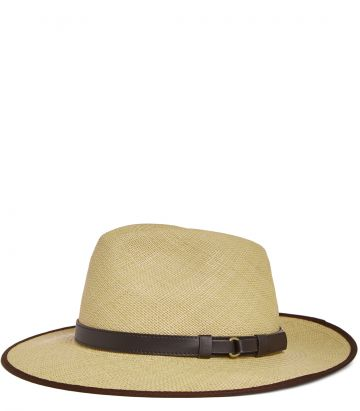 Panama hat - side view