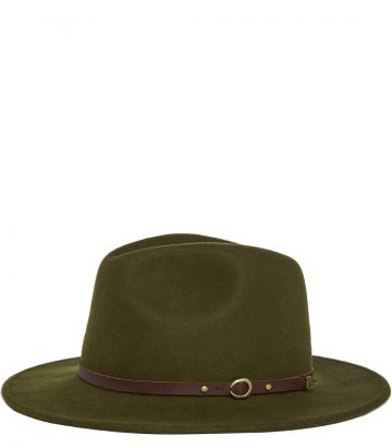 Travellers Hat - Khaki Green