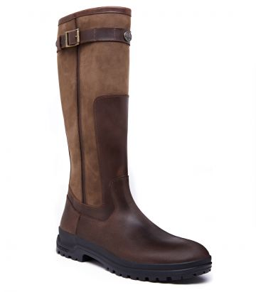 Mens Le Chameau Jameson Leather Boot