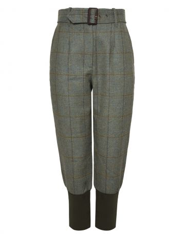 LADIES HIGH WAISTED TWEED BREEKS WITH STORM CUFF