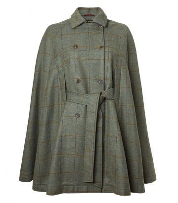 Ladies Tweed Cape - Minto