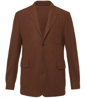 Mens Teba Jacket - Terracotta