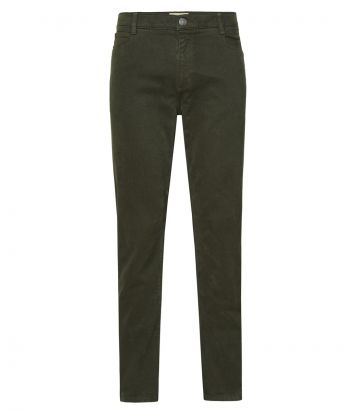 Mens Heavy Cotton Jeans - Winter Moss
