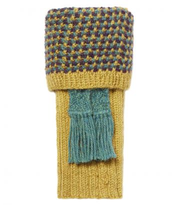 Pentire Alpaca Shooting Socks - Corn