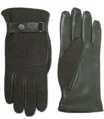 Mens Cashmere Town Gloves - Legerwood