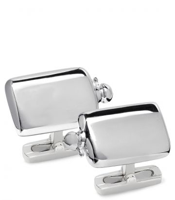 Silver Hip Flask Cufflinks