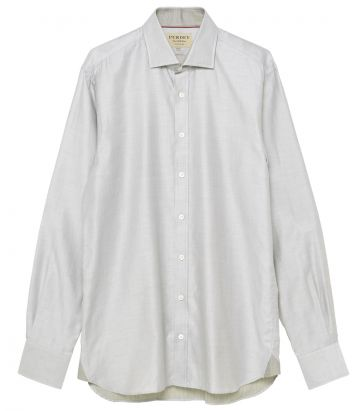 Mens Double Face Shirt - Thyme