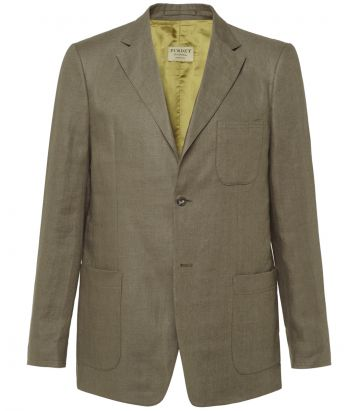 Mens Fleming Linen Jacket
