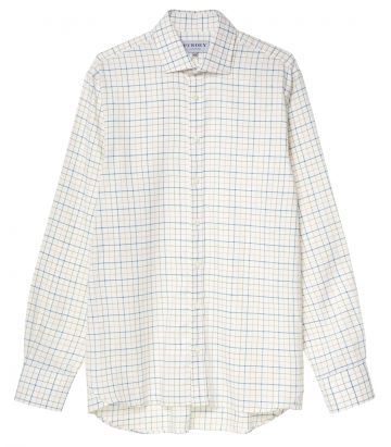 Mens Exploded Check Shirt - Pink