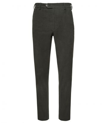Mens Moleskin Trousers - Green