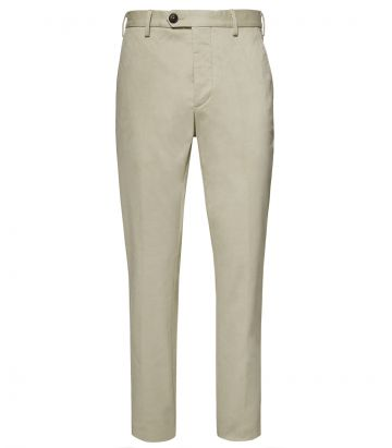 Mens Chino Trousers - Beige