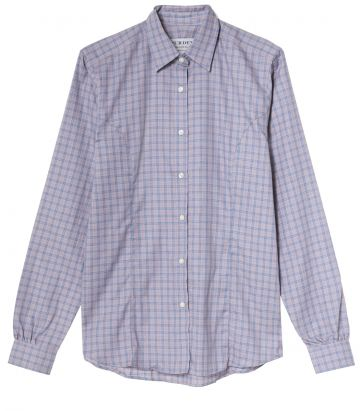 LADIES TATTERSALL COTTON SHIRT