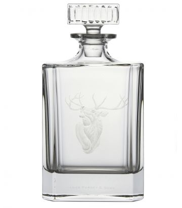 Stag Crystal Decanter