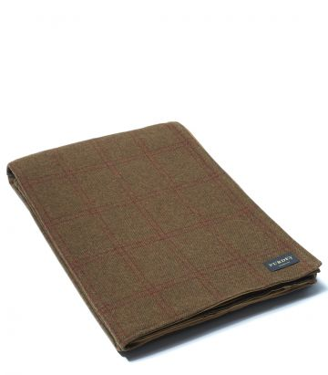 Lambswool Backed Blanket - Audley
