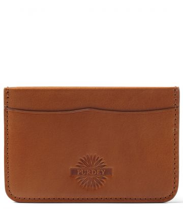 Credit Card Holder - London Tan