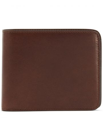 Leather Billfold Wallet - Havana