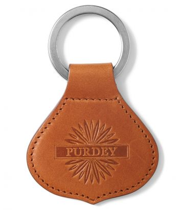 Crown Keyring - London Tan