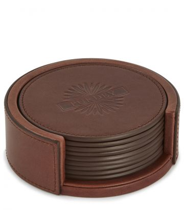 Leather Coaster Position Finder