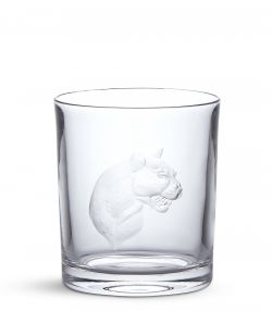 Big Five Crystal Tumbler - Leopard